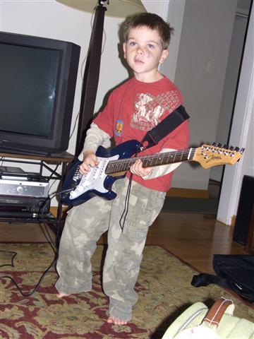 Ben on Guitar